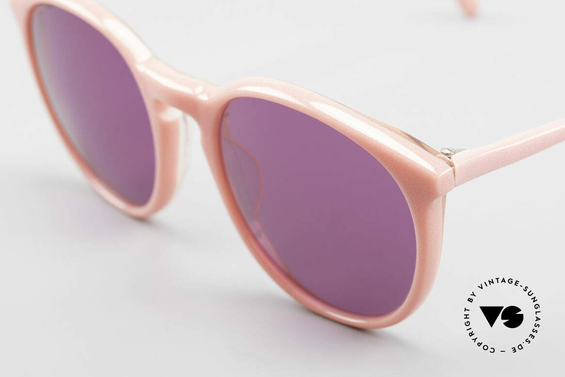 Alain Mikli 901 / 081 Panto Sonnenbrille Lila Pink, lila Sonnengläser (100% UV); SMALL Größe (123mm), Passend für Damen