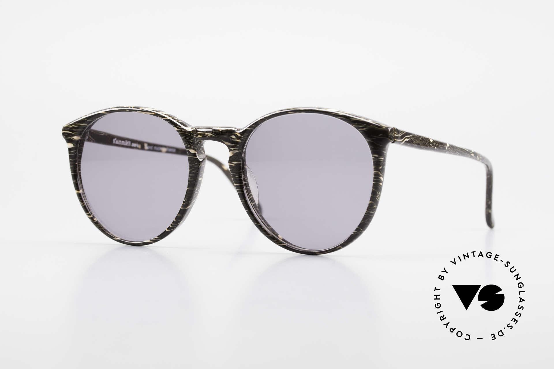 Alain Mikli 901 / 429 Panto Brille Braun Marmoriert, elegante ALAIN MIKLI Paris Designer-Sonnenbrille, Passend für Herren und Damen