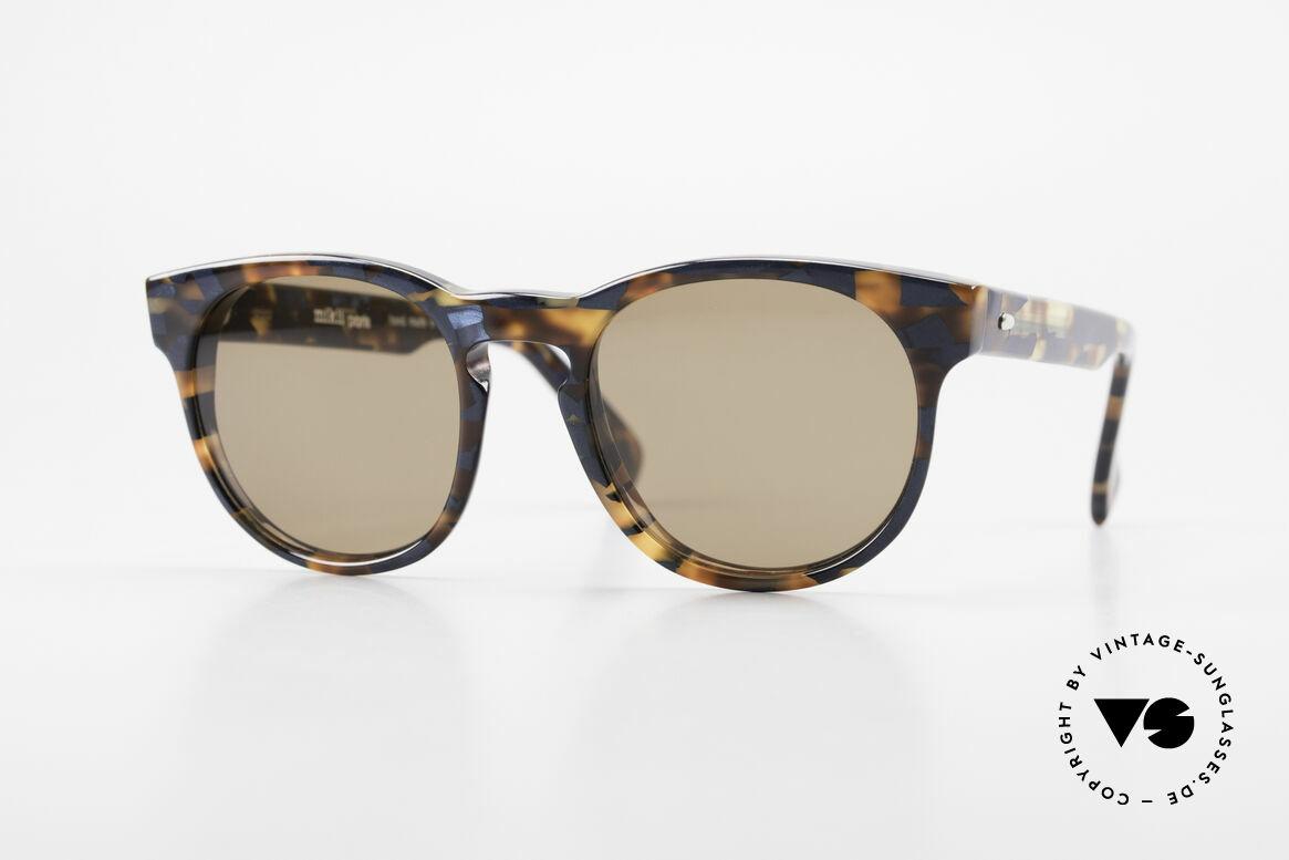 Alain Mikli 6903 / 622 XS Panto Brille Braun Marmor, zeitlose ALAIN MIKLI Paris Designer-Sonnenbrille, Passend für Herren und Damen