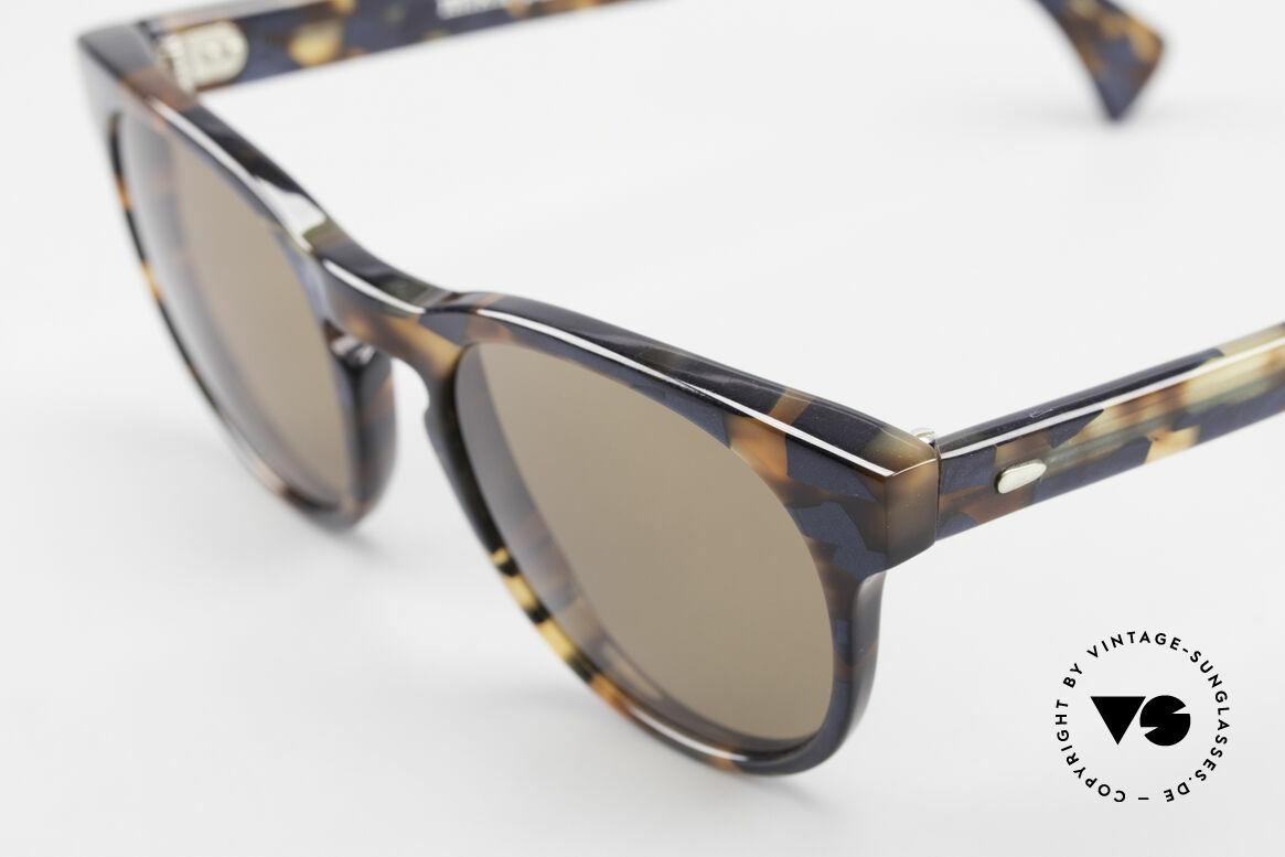 Alain Mikli 6903 / 622 XS Panto Brille Braun Marmor, interessantes Farbmuster & X-SMALL Größe (117mm), Passend für Herren und Damen