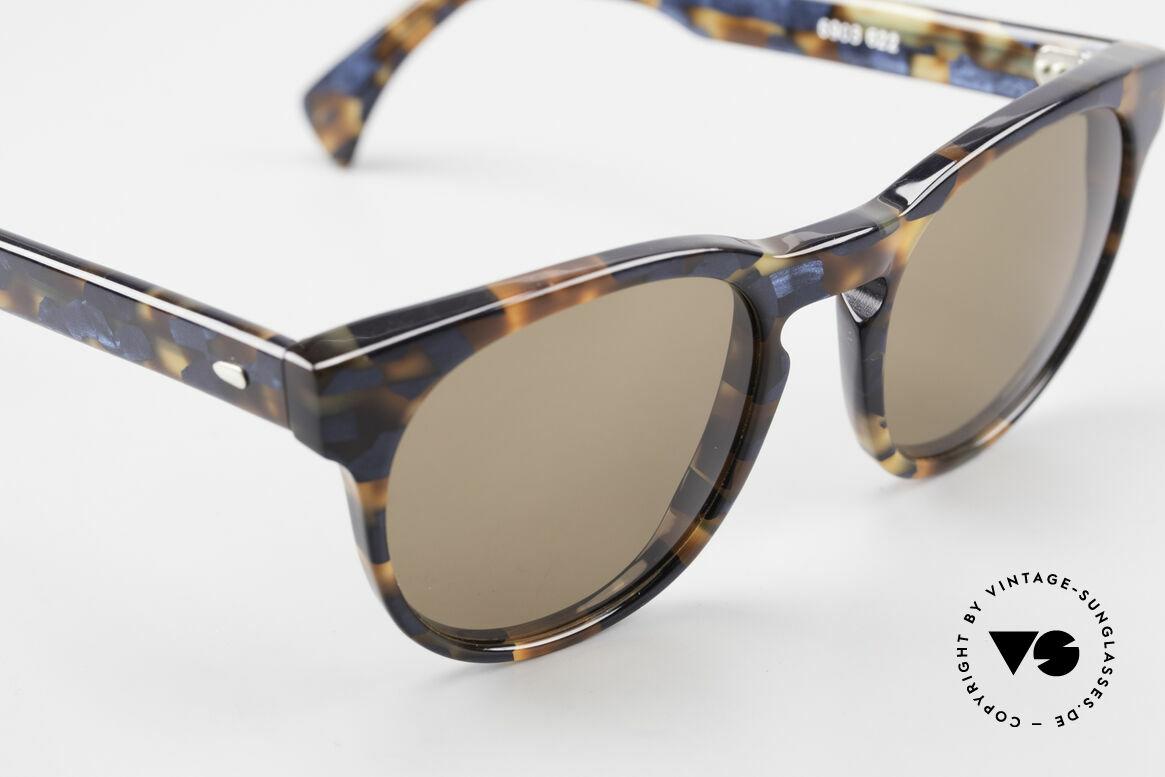 Alain Mikli 6903 / 622 XS Panto Brille Braun Marmor, ungetragen (wie alle unsere 1980er vintage Brillen), Passend für Herren und Damen