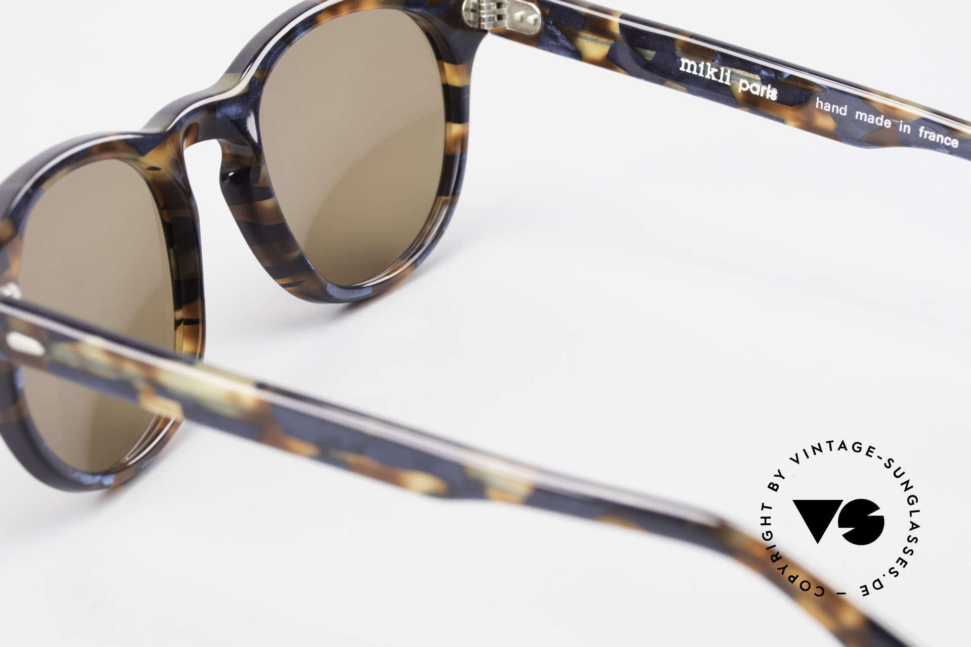 Alain Mikli 6903 / 622 XS Panto Brille Braun Marmor, KEINE Retromode, sondern ein altes Mikli-Original, Passend für Herren und Damen