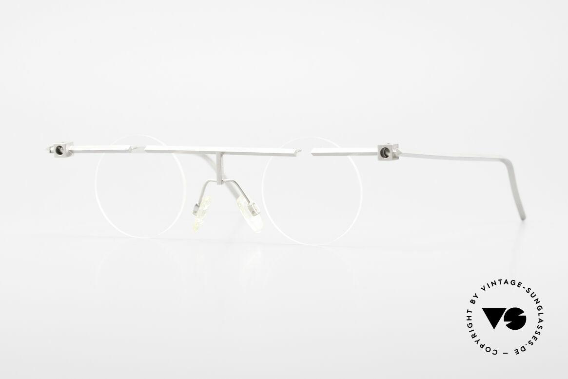B. Angeletti Sammlerstück Bauhaus Brille Limited Edition, kostbare vintage Brillenfassung von Barbara ANGELETTI, Passend für Herren und Damen