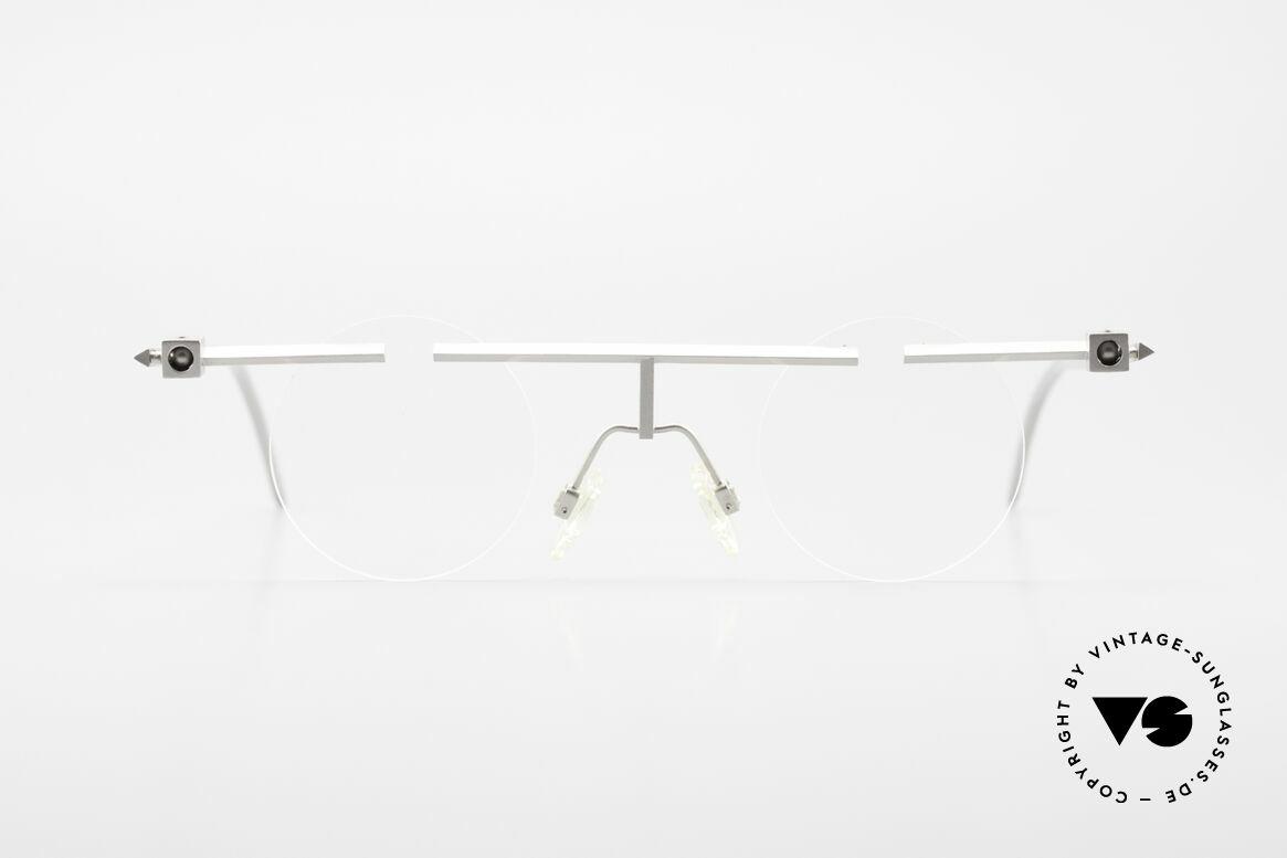 """B. Angeletti Sammlerstück Bauhaus Brille Limited Edition, Name: """"Sammlerstück mit Kugelgelenk"""" (Nr. 31 von 99), Passend für Herren und Damen"""