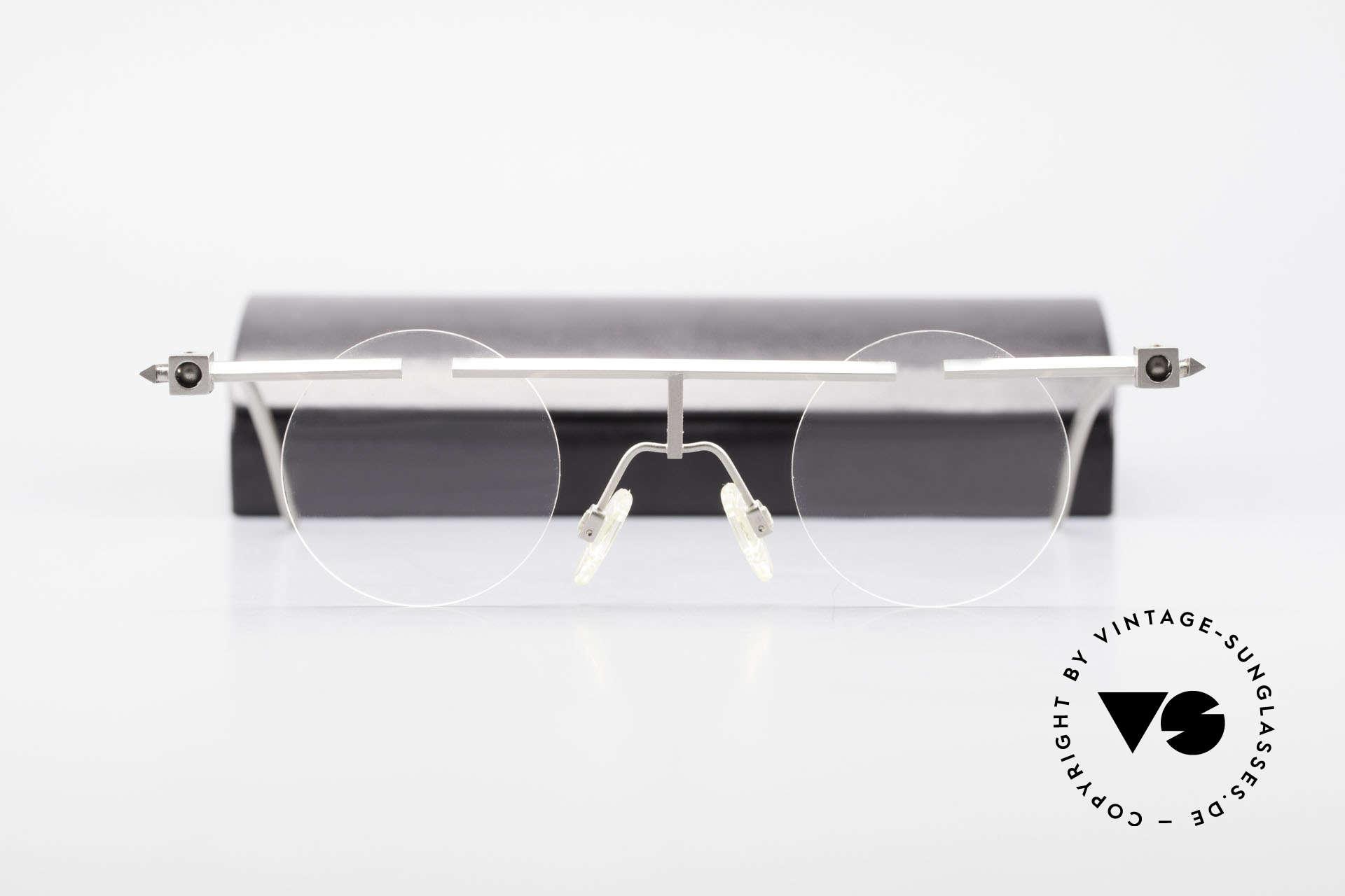 B. Angeletti Sammlerstück Bauhaus Brille Limited Edition, absolute Rarität in Handarbeit gefertigt; Sammlerstück!, Passend für Herren und Damen