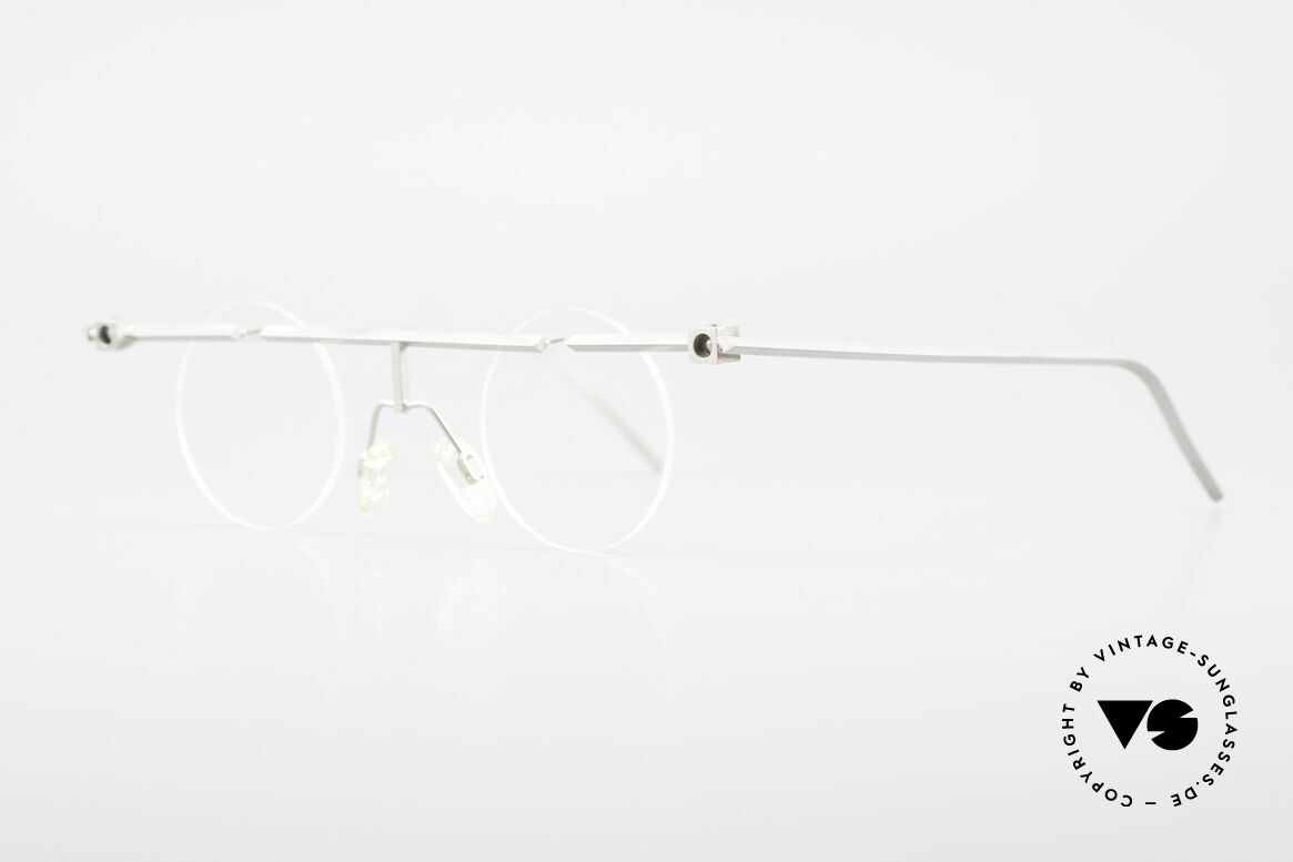 B. Angeletti Sammlerstück Bauhaus Brille Limited Edition, intellektuelles Design für Individualisten, BAUHAUS Stil, Passend für Herren und Damen