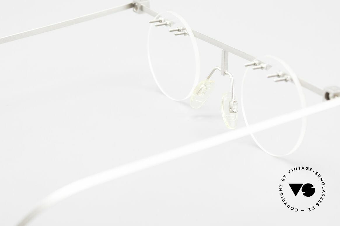 B. Angeletti Sammlerstück Bauhaus Brille Limited Edition, Größe: large, Passend für Herren und Damen
