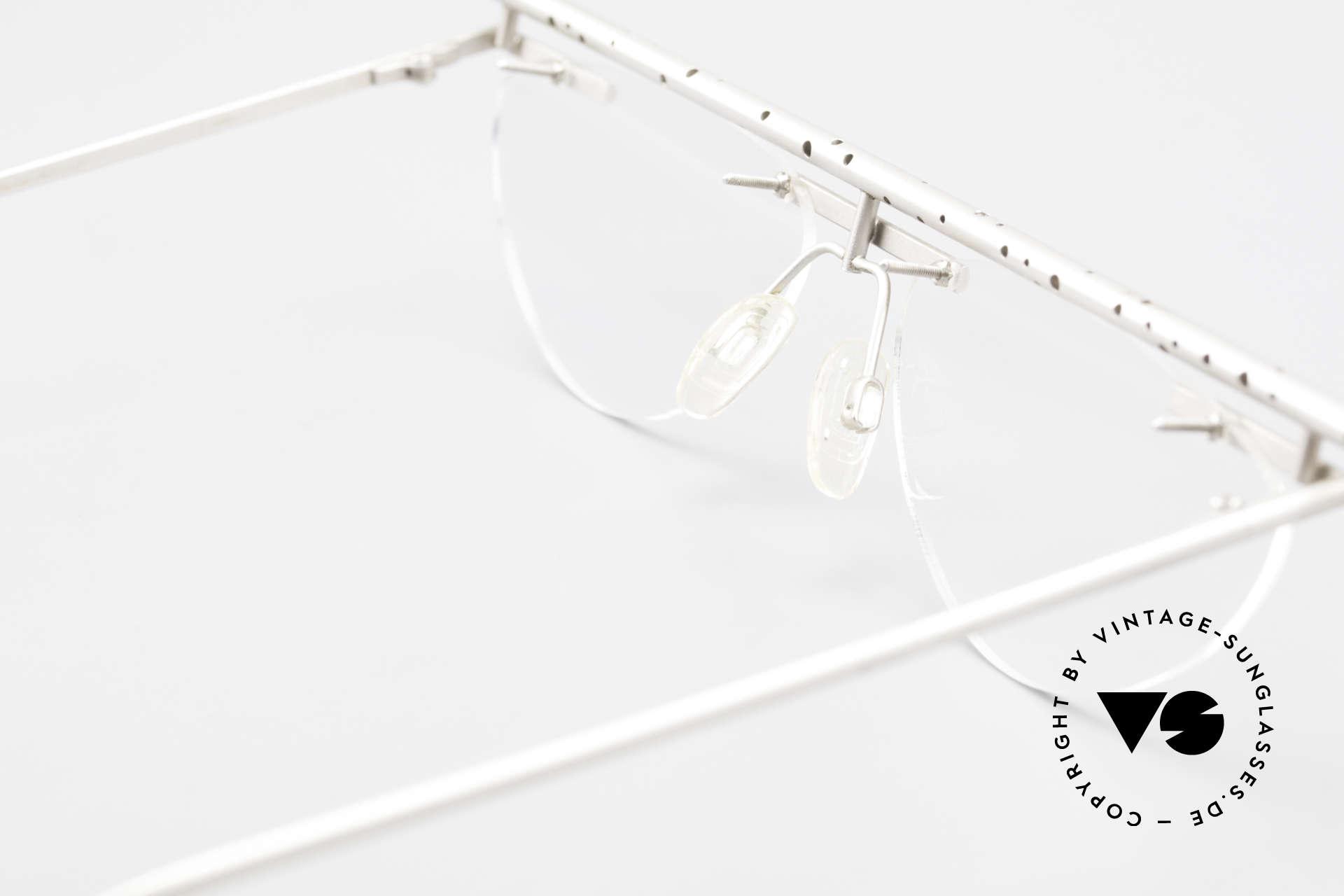 B. Angeletti Gazelle Vintage Architekten Brille, Größe: medium, Passend für Herren und Damen