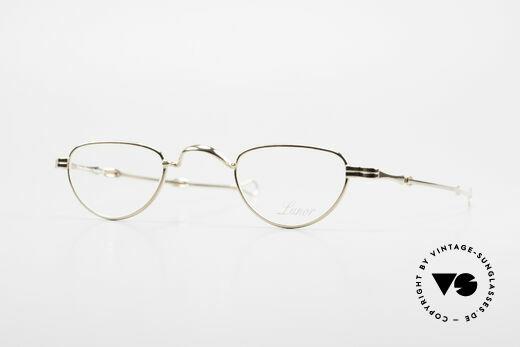 Lunor - Telescopic Ausziehbare Brille Vergoldet Details