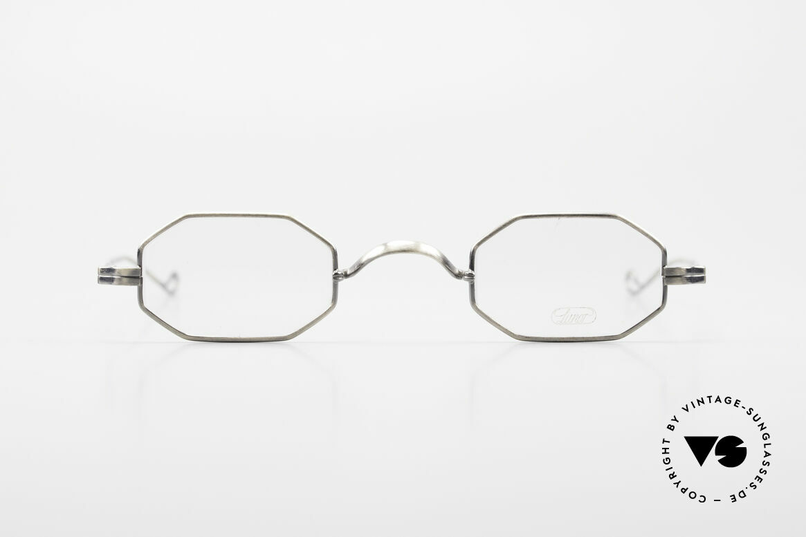 """Lunor Octag Achteckige Vintage Brille, LUNOR = französisch für """"Lunette d'Or"""" (Goldbrille), Passend für Herren und Damen"""
