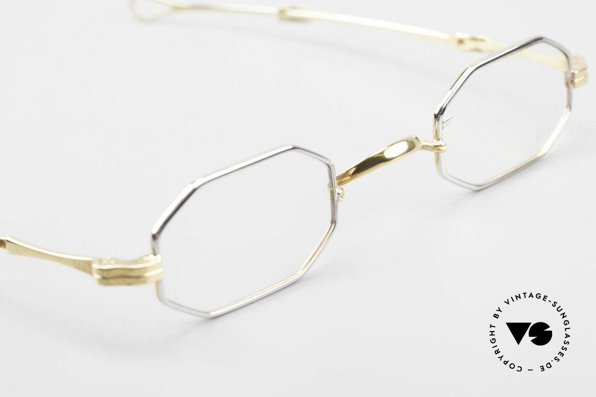 Lunor - Telescopic Ausziehbare Brille Achteckig, sowie für ausziehbare Brillenbügel (= teleskopartig), Passend für Herren und Damen