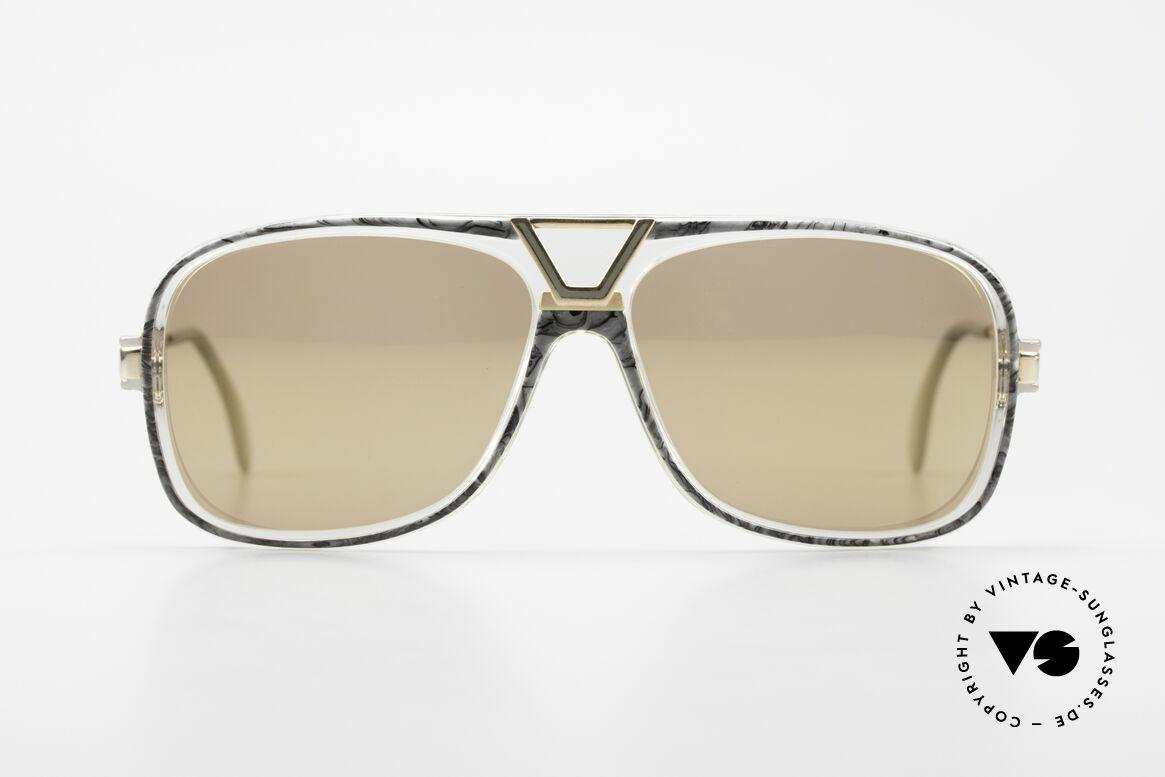 Cazal 635 Gold Verspiegelte Gläser 80er, kultiges Meisterstück von CAri ZALoni (CAZAL), Passend für Herren