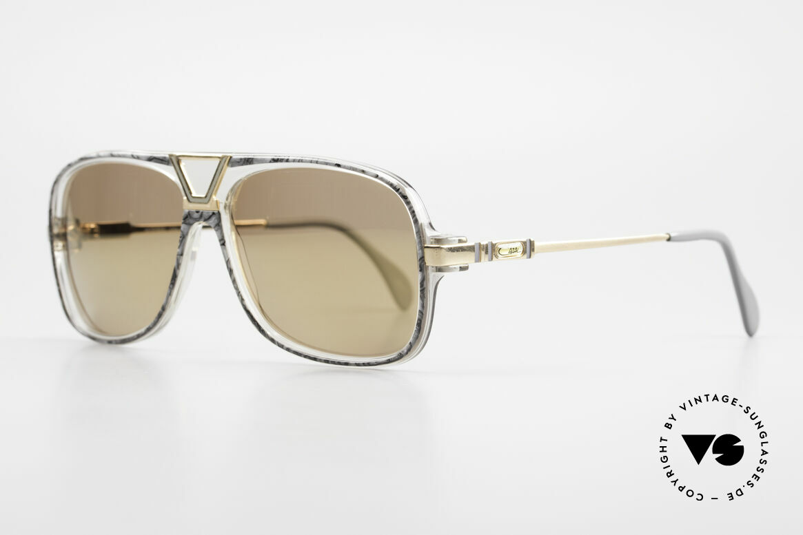 Cazal 635 Gold Verspiegelte Gläser 80er, eine echte Rarität v. 1986 (FRAME W.GERMANY), Passend für Herren