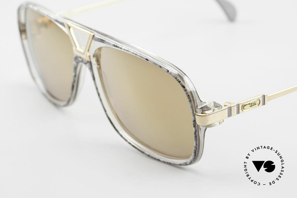 Cazal 635 Gold Verspiegelte Gläser 80er, 2nd hand, jedoch in exzellentem Zustand + Etui, Passend für Herren