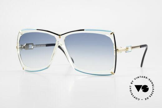 Cazal 864 Rare 80er Cazal Sonnenbrille Details