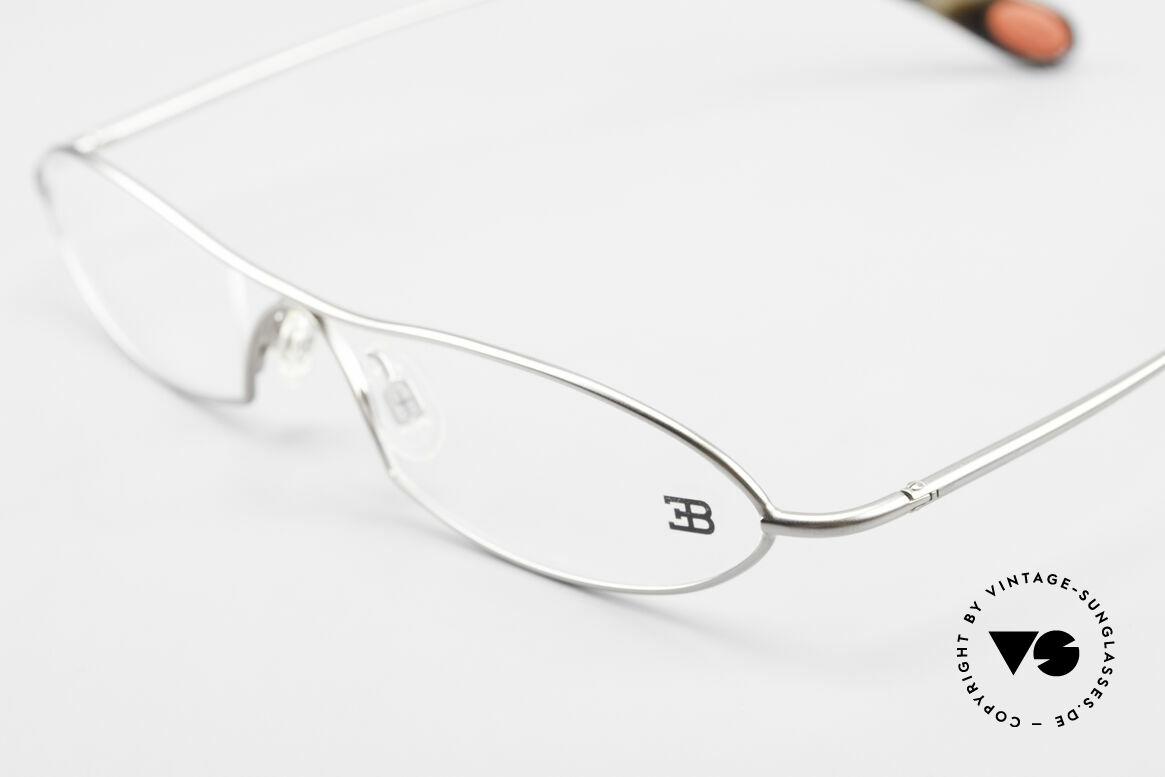 Bugatti 341 Odotype Herren Designer Vintage Brille, sehr spezielle Glaseinfassung & Top Komfort, Passend für Herren