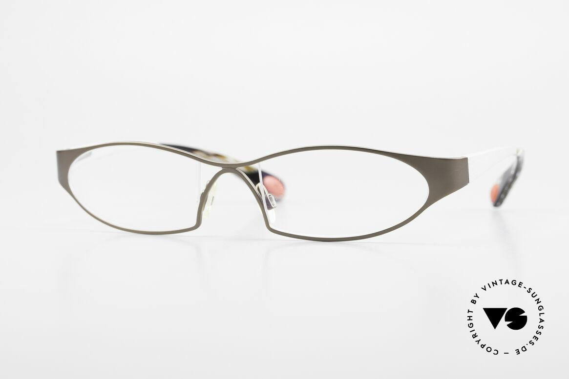 Bugatti 363 Odotype Rare Designer Brille Herren, ORIGINAL high-tech Bugatti Brillenfasssung, Passend für Herren