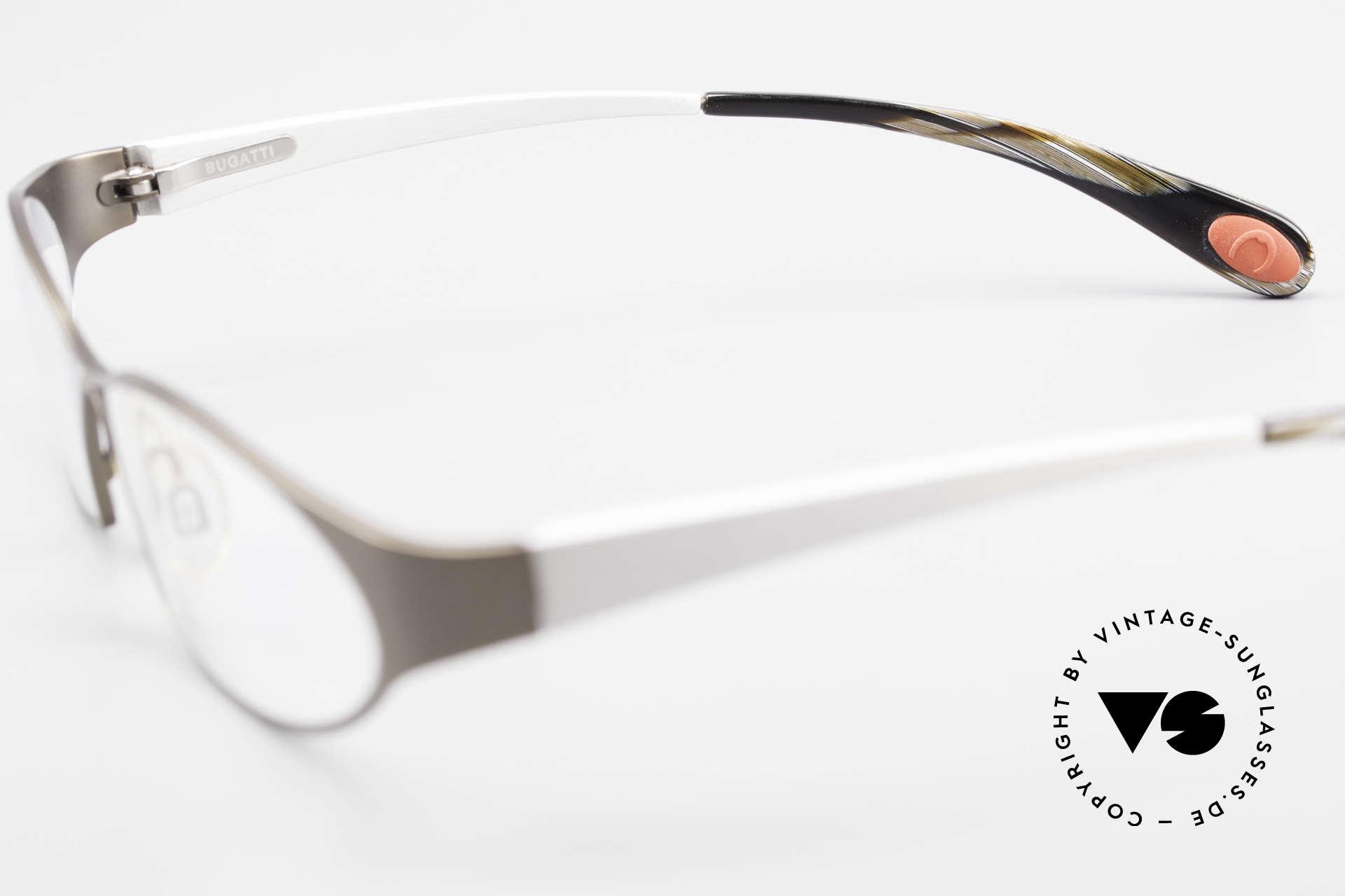 Bugatti 363 Odotype Rare Designer Brille Herren, Modell als Brille oder Sonnenbrille verglasbar, Passend für Herren