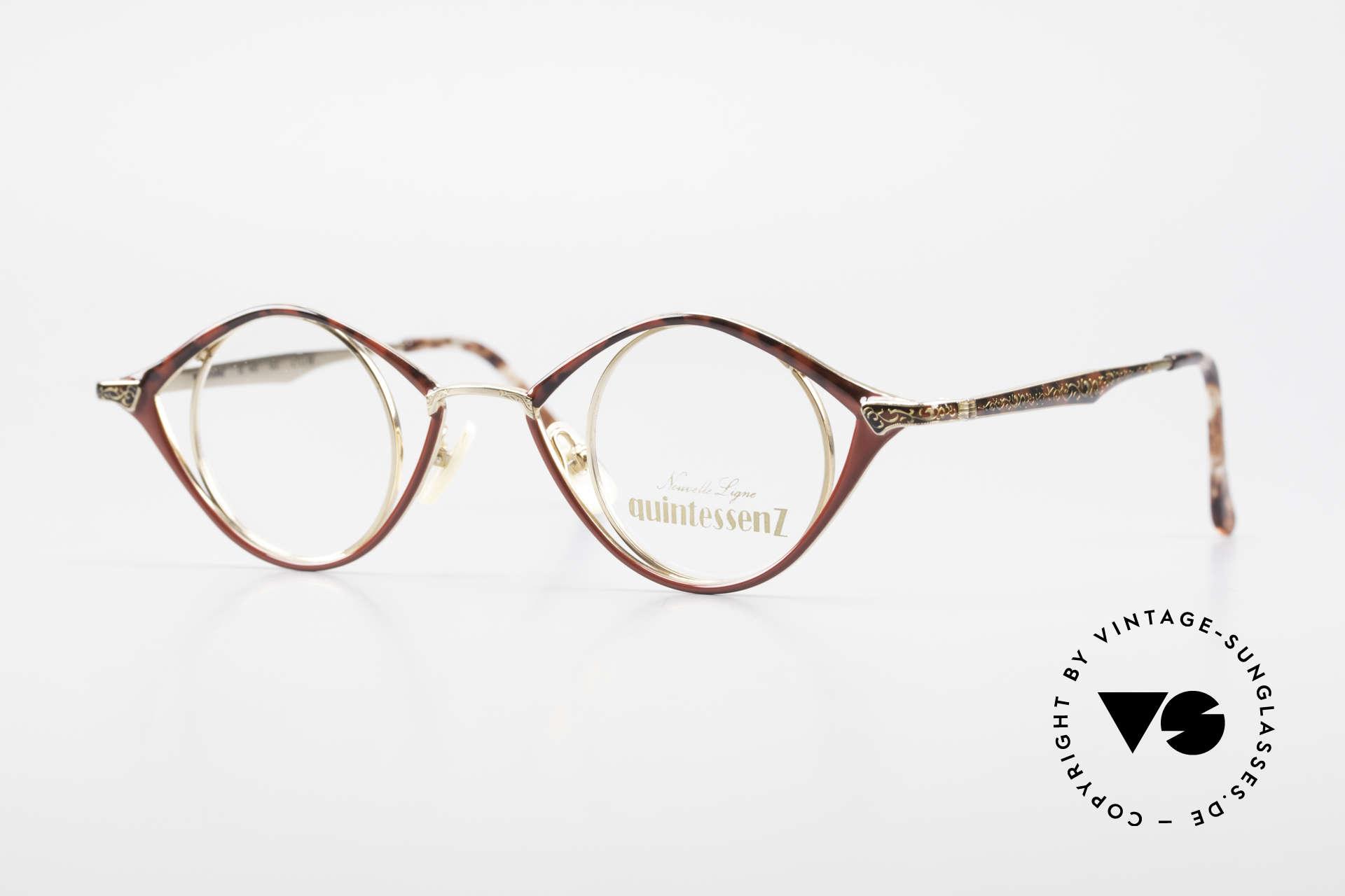 Nouvelle Ligne Q40 Vintage Damenbrille No Retro, Nouvelle Ligne Germany, Q40, MADE IN JAPAN, Passend für Damen
