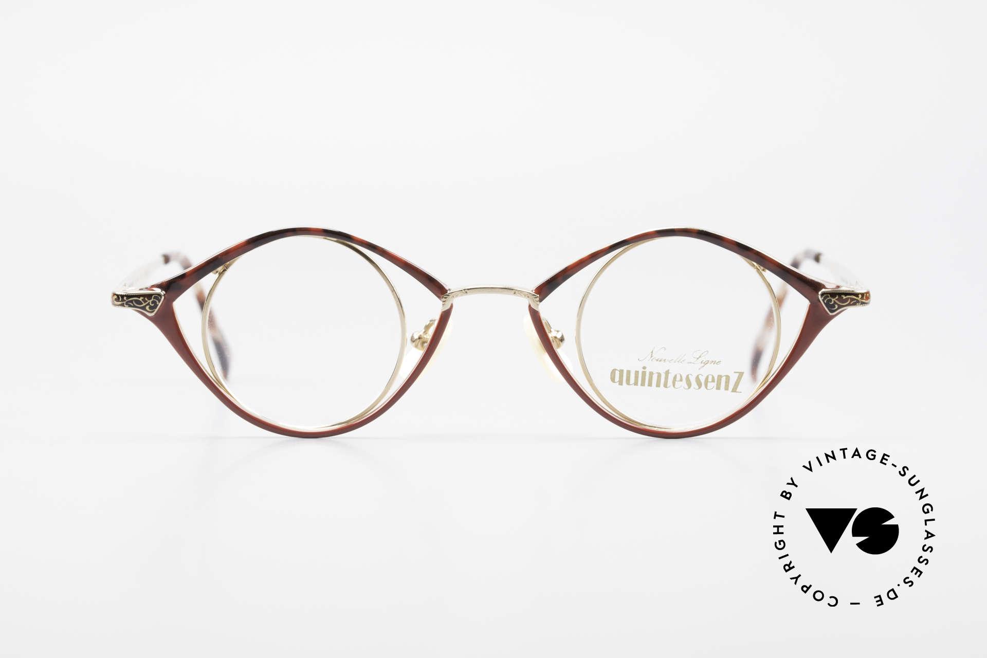 Nouvelle Ligne Q40 Vintage Damenbrille No Retro, Designerbrille aus den 90ern von Nouvelle Ligne, Passend für Damen