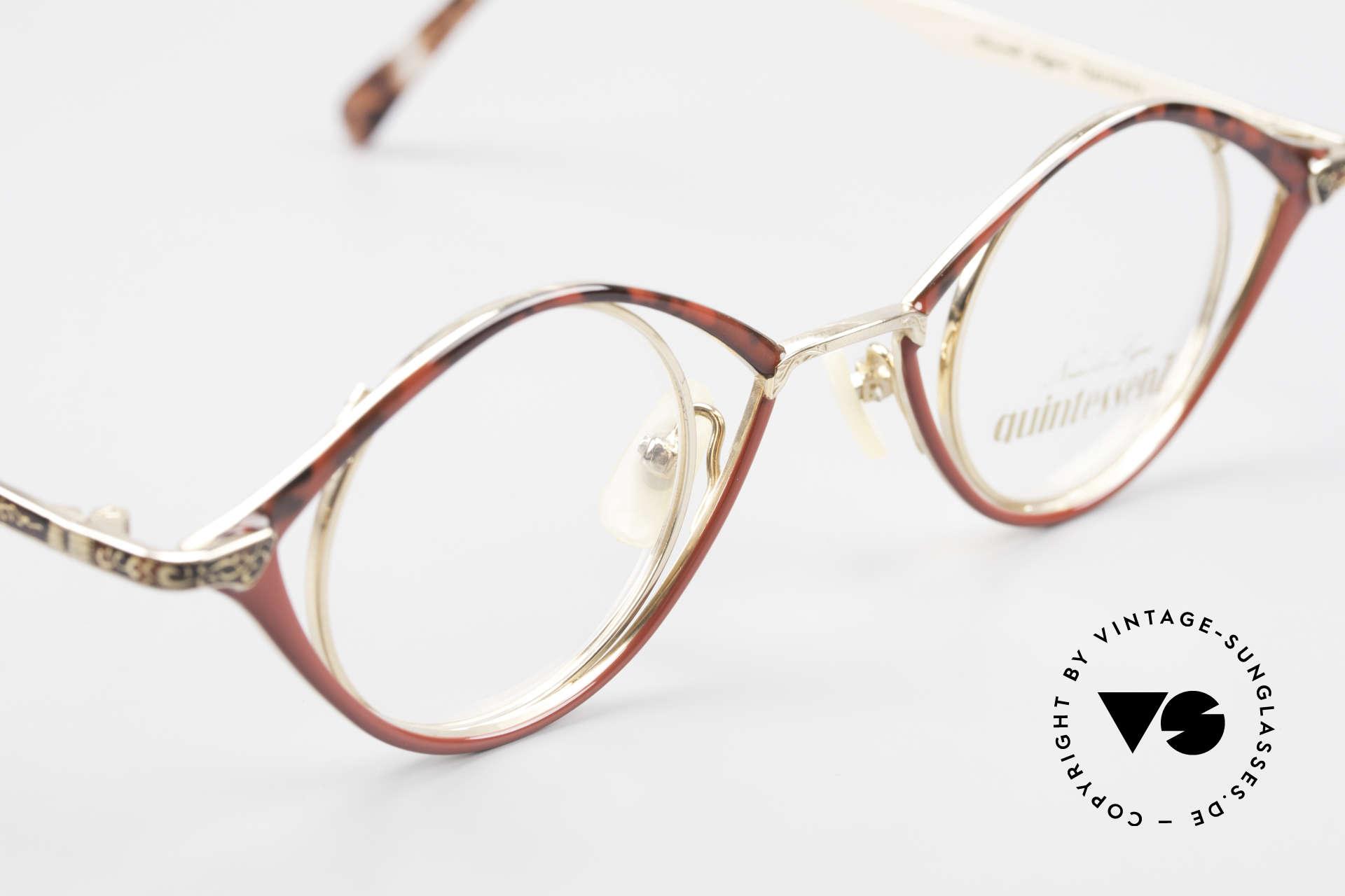 Nouvelle Ligne Q40 Vintage Damenbrille No Retro, KEINE RETRO-Brille, sondern ein altes Original!, Passend für Damen