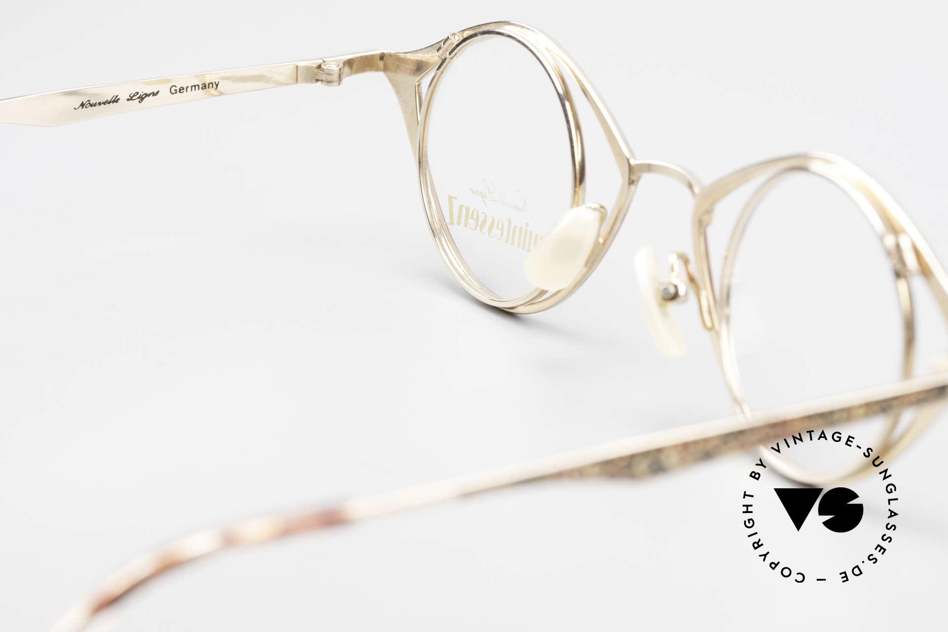 Nouvelle Ligne Q40 Vintage Damenbrille No Retro, Größe: large, Passend für Damen