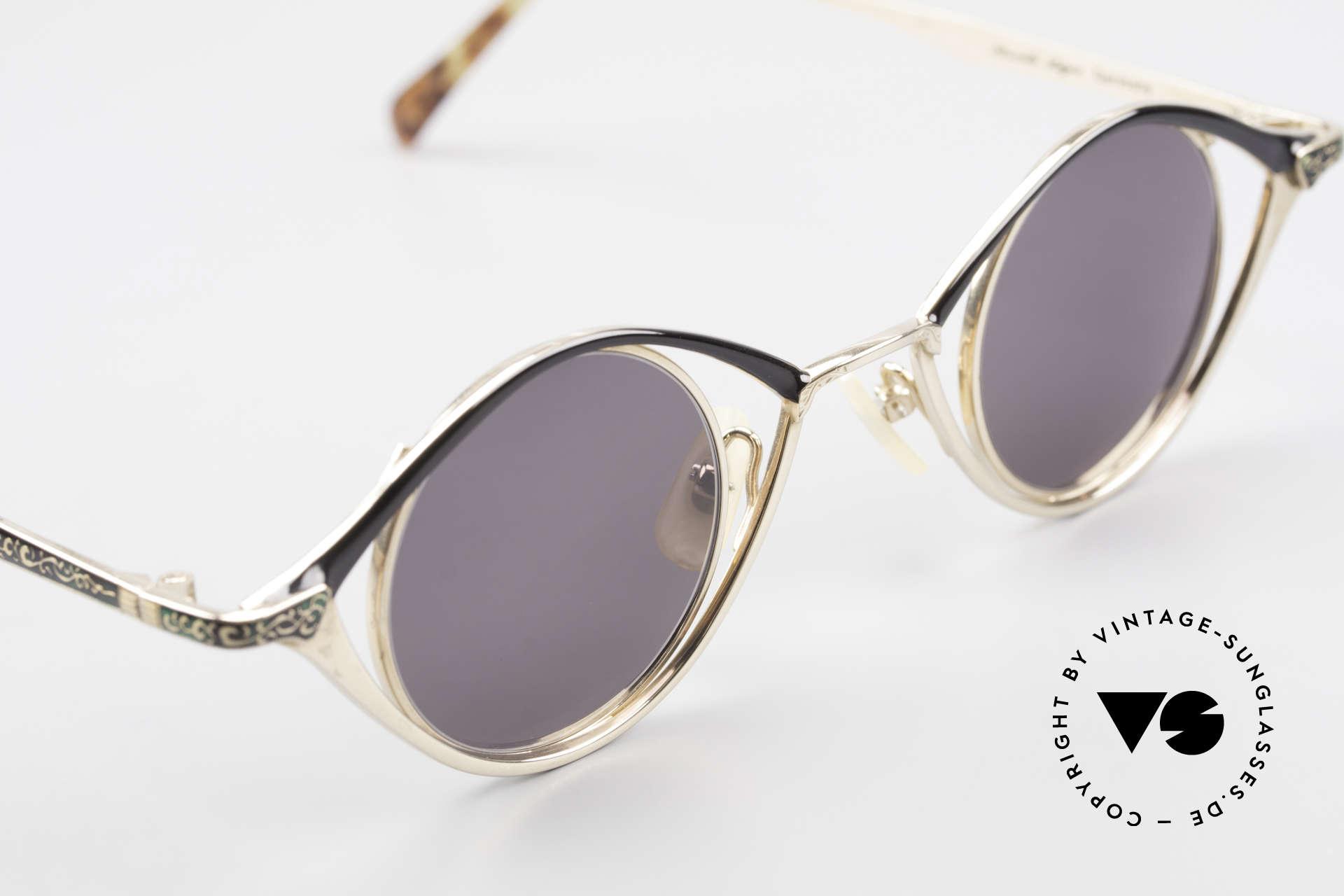 Nouvelle Ligne Q40 Vintage Damensonnenbrille, KEINE RETRO-Brille, sondern ein altes Original!, Passend für Damen
