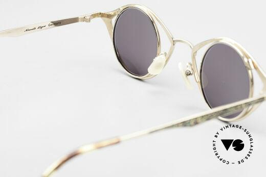 Nouvelle Ligne Q40 Vintage Damensonnenbrille, Größe: large, Passend für Damen
