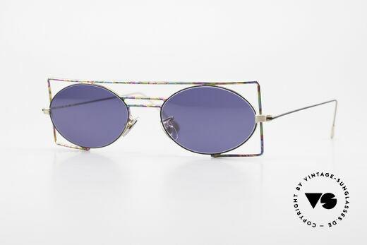 IMAGO Steel 8 Bunte Vintage Sonnenbrille Details