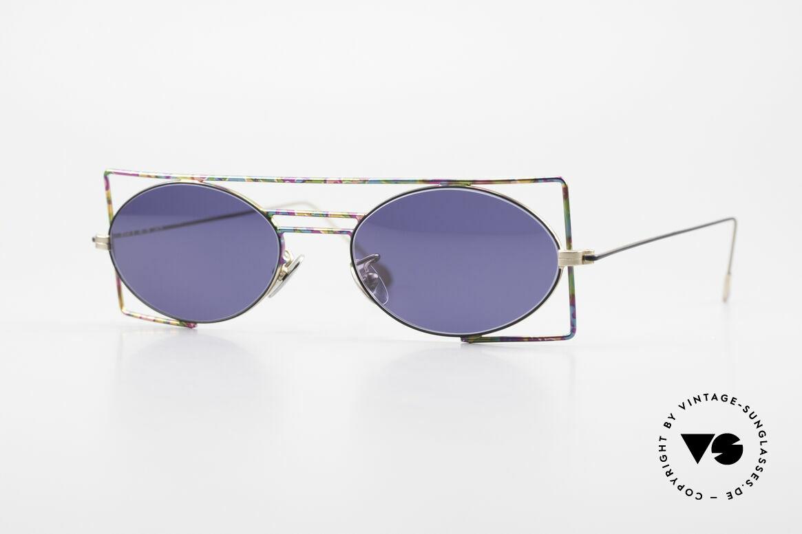 IMAGO Steel 8 Bunte Vintage Sonnenbrille, IMAGO = Brillen mit Identität und Persönlichkeit, Passend für Herren und Damen