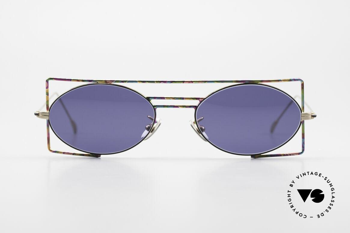 IMAGO Steel 8 Bunte Vintage Sonnenbrille, 'Imago' ist Latein für: Idee, Form, Vision, Bildnis, Passend für Herren und Damen
