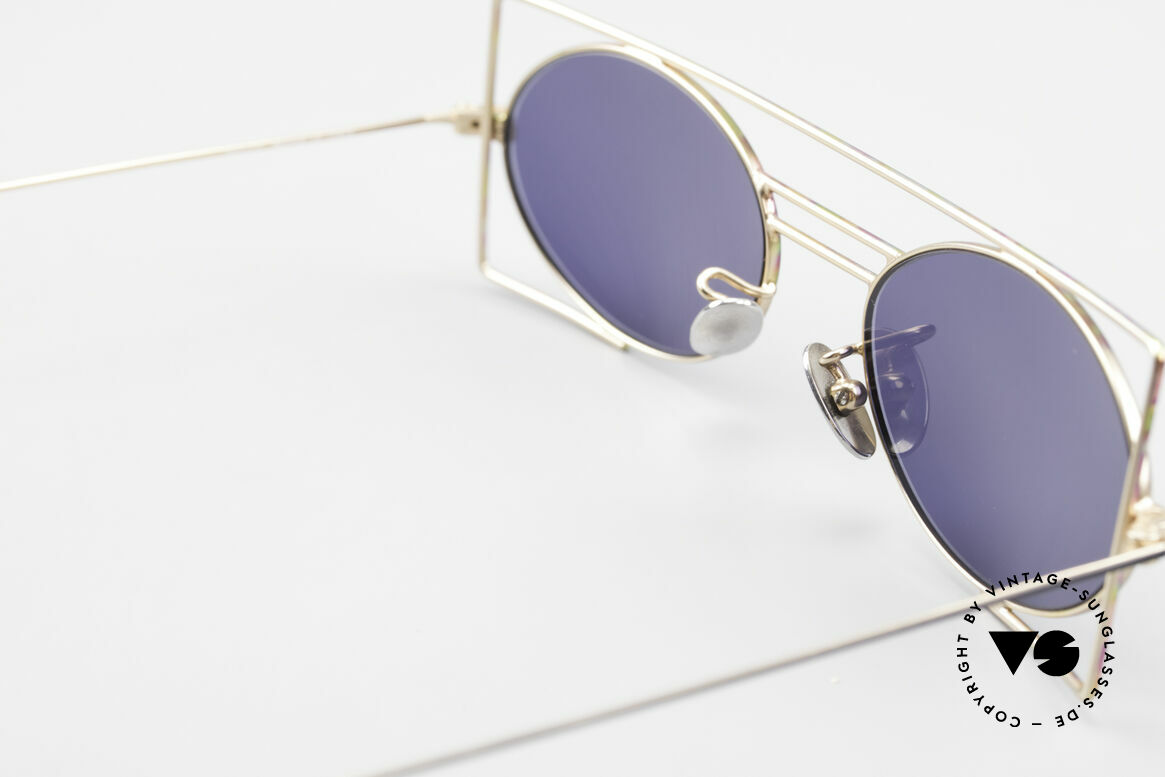 IMAGO Steel 8 Bunte Vintage Sonnenbrille, ungetragen (wie alle unsere IMAGO Brillen der 90er), Passend für Herren und Damen