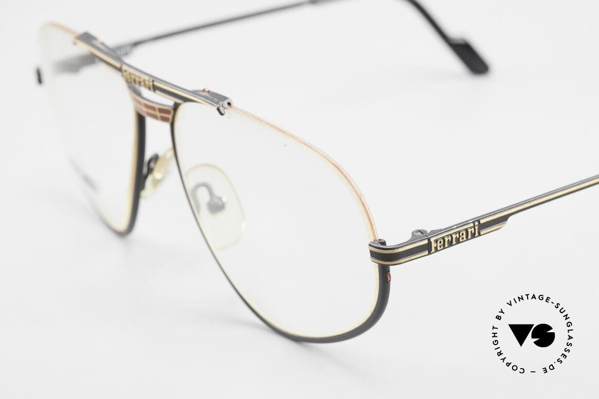 Ferrari F2 Alte Ferrari Brille True Vintage, ungetragen; wie alle unsere alten Ferrari Herrenbrillen, Passend für Herren