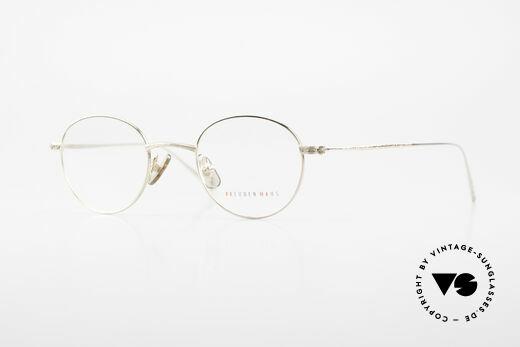 Freudenhaus Garland Kleine Runde Designer Brille Details