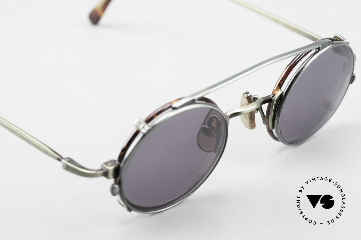 Freudenhaus Tori Kleine Runde Brille Clip On, ungetragen (wie alle unsere vintage Designerbrillen), Passend für Herren und Damen