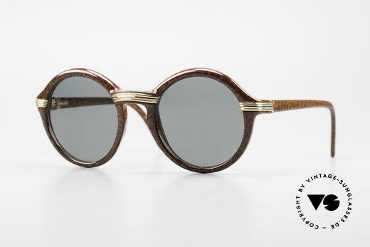 Cartier Cabriolet Runde Luxus Sonnenbrille L Details
