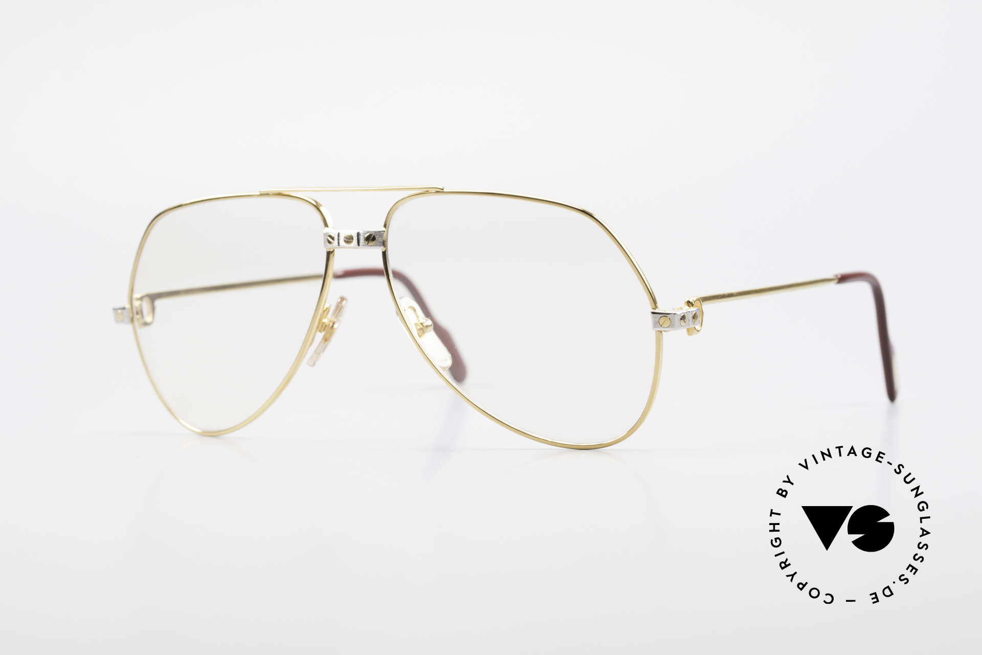 Cartier Vendome Santos - M Automatik Cartier Gläser, Vendome = das berühmteste Brillendesign von CARTIER, Passend für Herren