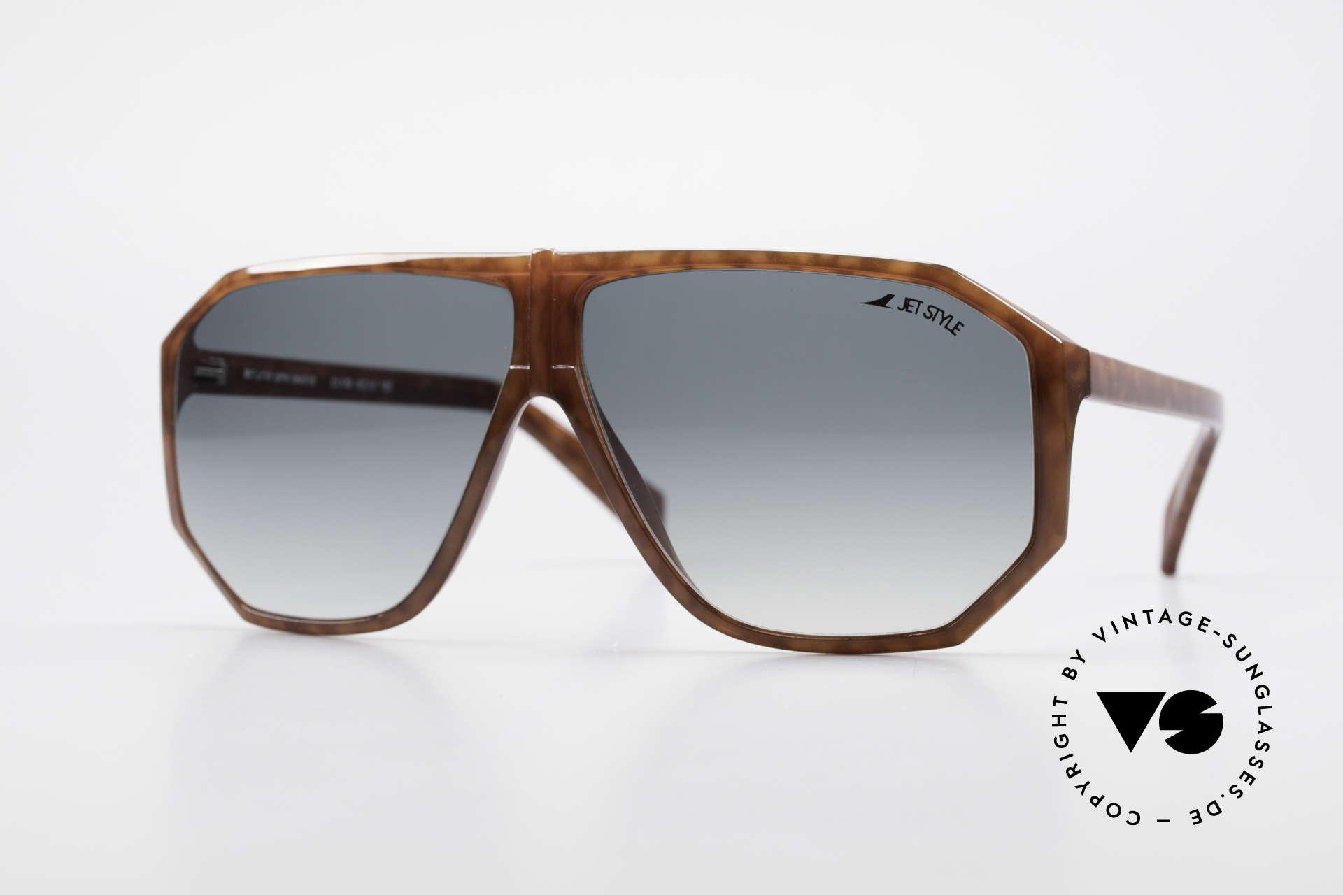 Silhouette M4019 JetStyle Aviator Sonnenbrille, vintage 80er Designer-Sonnenbrille von Silhouette, Passend für Herren