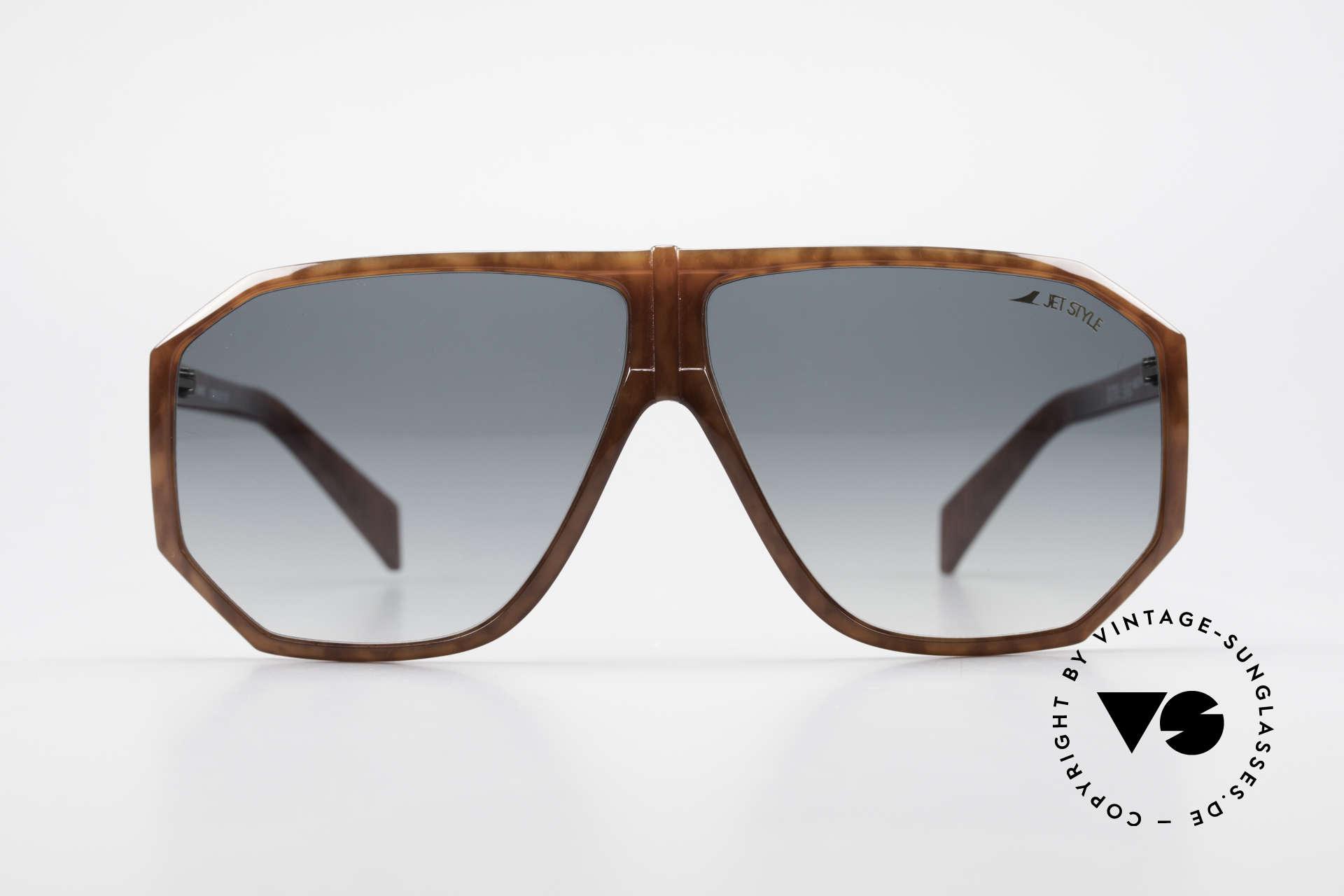 Silhouette M4019 JetStyle Aviator Sonnenbrille, kostbares Modell aus der legendären 'JetStyle-Serie', Passend für Herren