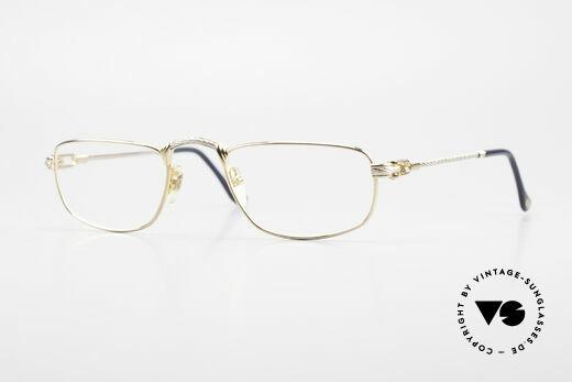 Fred Demi Lune Halbmond Luxus Lesebrille Details