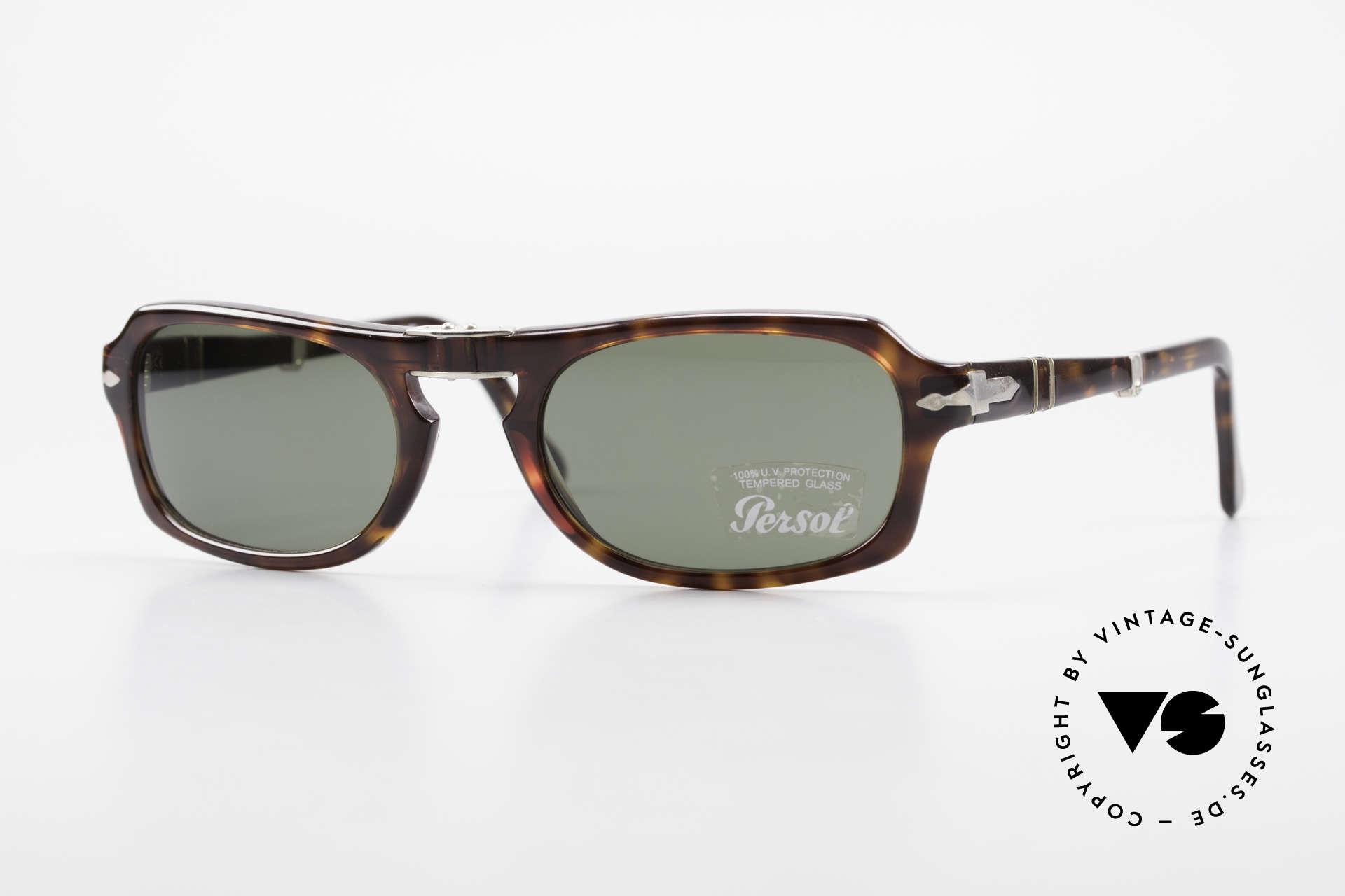 Persol 2621 Folding Faltbare Sonnenbrille Herren, Persol 2621 Folding: neue markante Faltbrille, Gr. 54/21, Passend für Herren