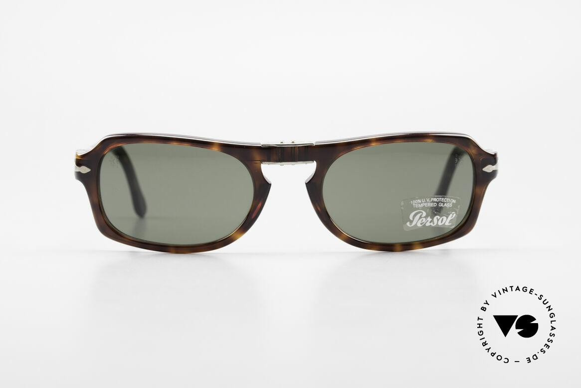 Persol 2621 Folding Faltbare Sonnenbrille Herren, aktuelle Kollektion in Anlehnung an die Persol RATTIS, Passend für Herren