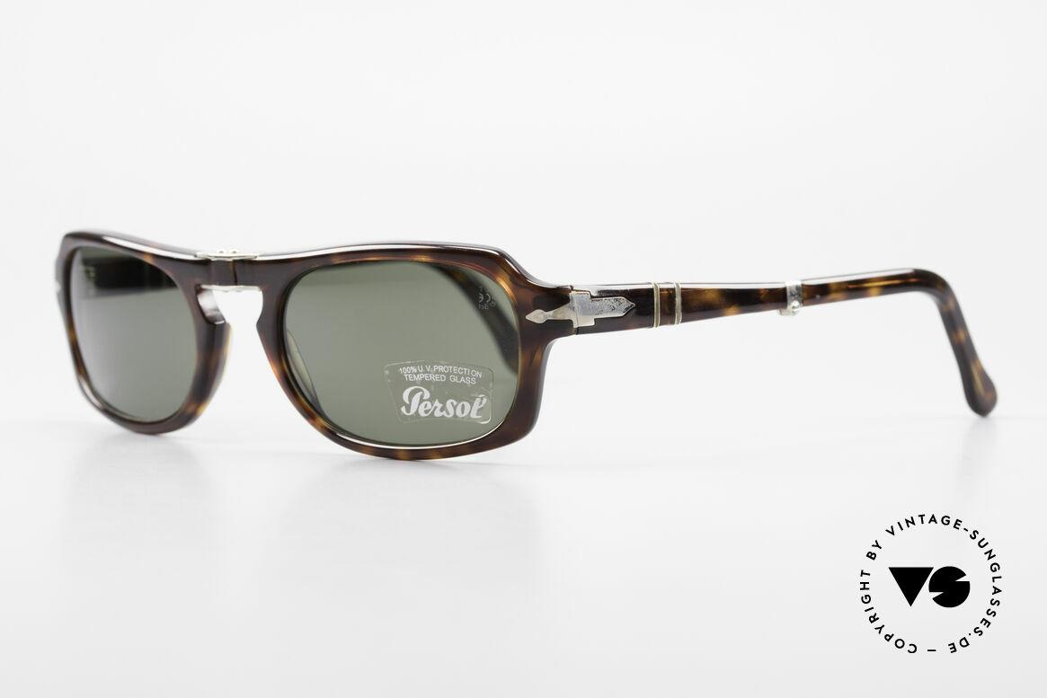 Persol 2621 Folding Faltbare Sonnenbrille Herren, Steve McQueen machte die alten Persol-RATTI legendär, Passend für Herren