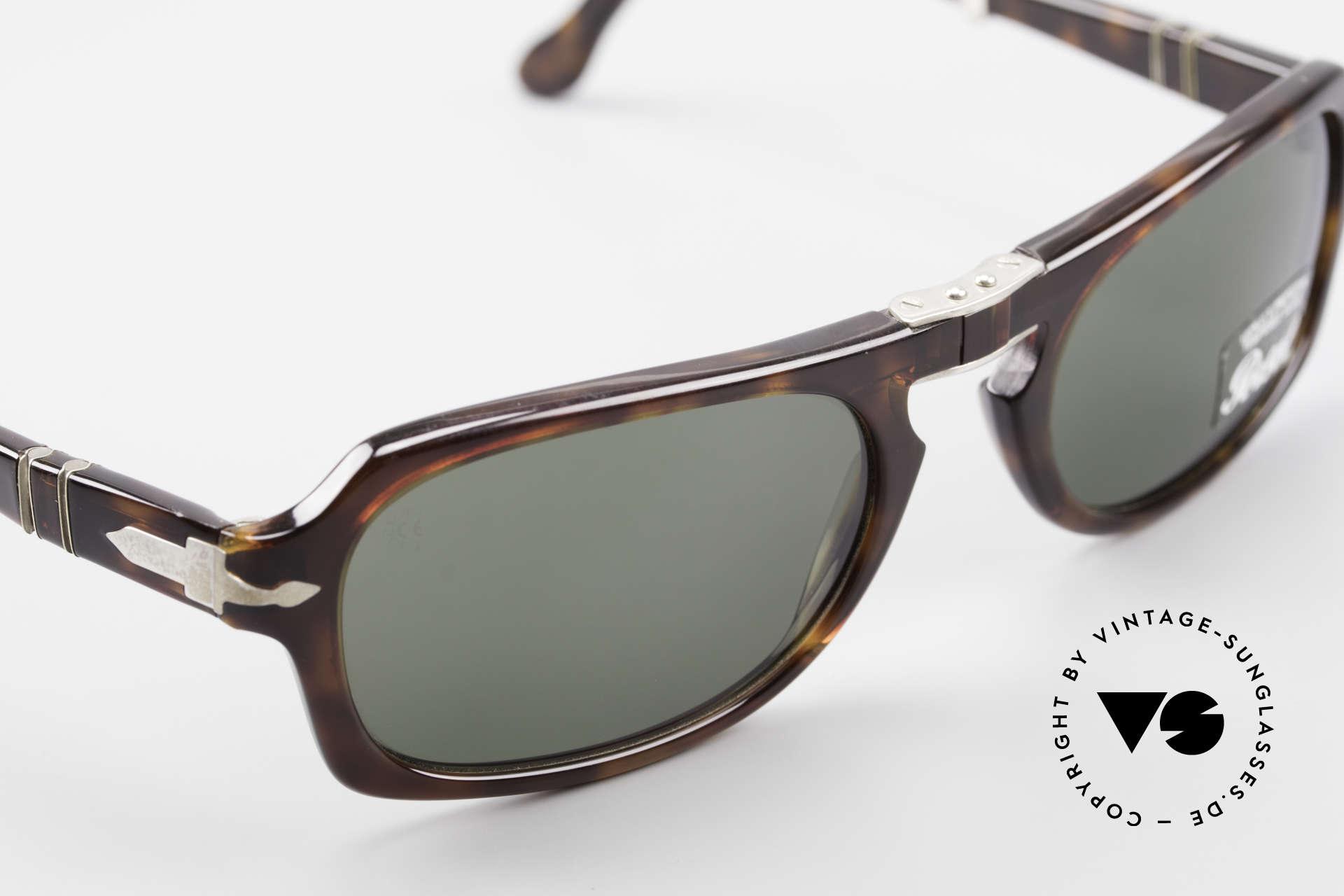 Persol 2621 Folding Faltbare Sonnenbrille Herren, daher jetzt erstmalig auch in unserem vintage Sortiment, Passend für Herren