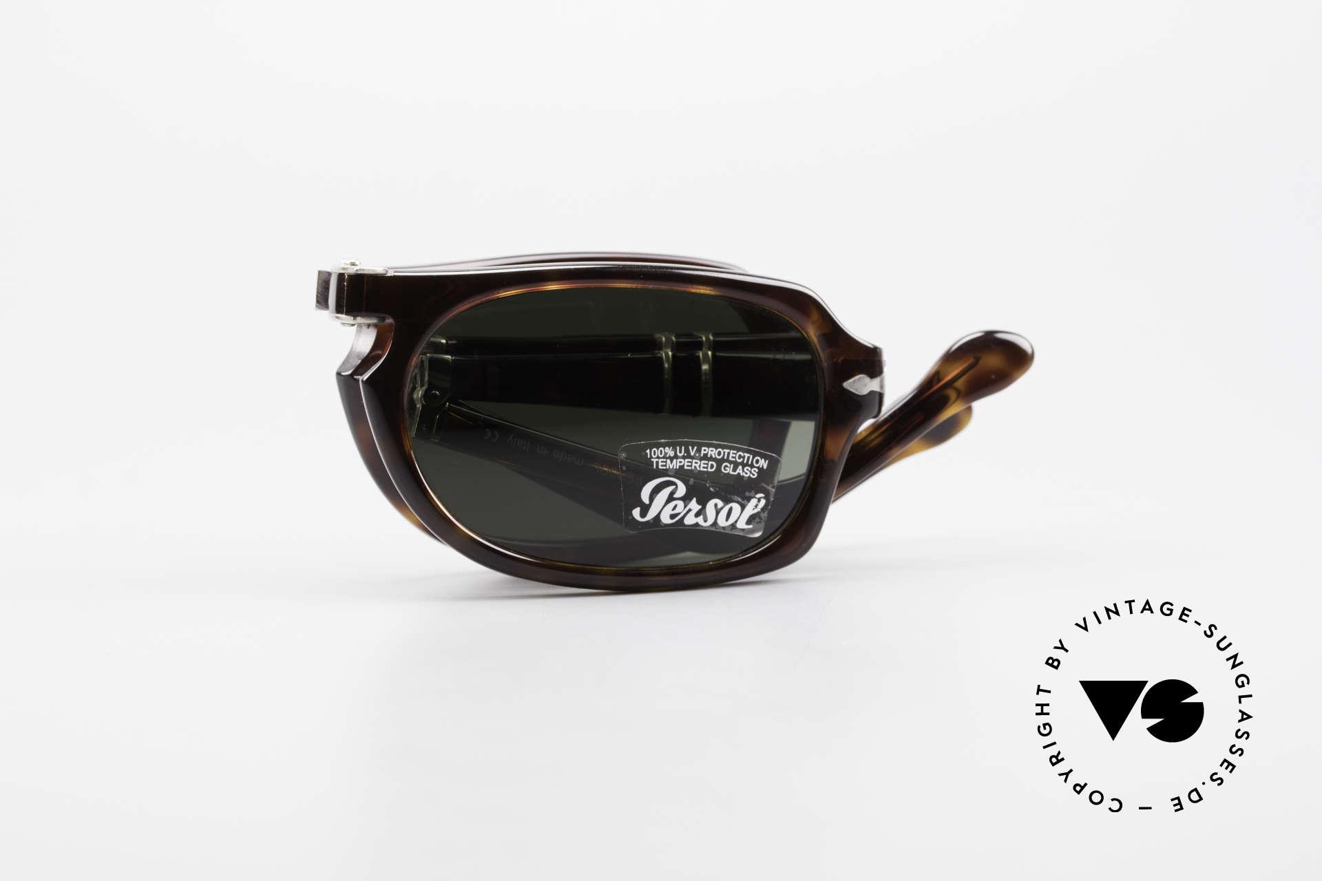 Persol 2621 Folding Faltbare Sonnenbrille Herren, Größe: medium, Passend für Herren