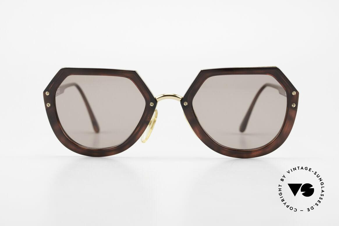 Christian LaCroix 7310 Rokoko Vintage Sonnenbrille, Rokokko-Zeitalter diente als Inspiration für's Design, Passend für Damen