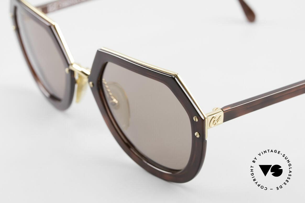 Christian LaCroix 7310 Rokoko Vintage Sonnenbrille, natürlich ein altes ORIGINAL und KEINE RETROmode, Passend für Damen