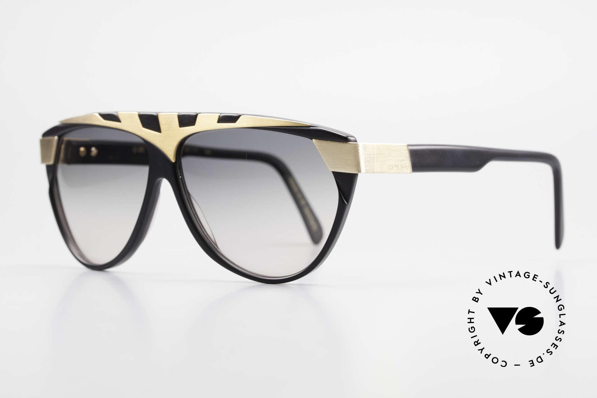 Alpina G80 Vergoldete 80er Sonnenbrille, echte Handarbeit aus den 80ern (made in W.Germany), Passend für Herren und Damen