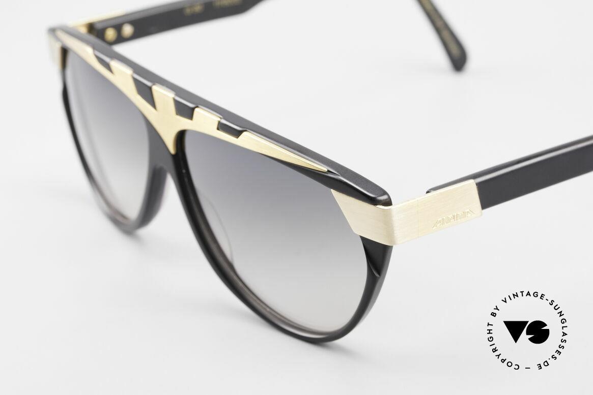 Alpina G80 Vergoldete 80er Sonnenbrille, Top-Qualität (24kt vergoldete Metall-Applikationen), Passend für Herren und Damen