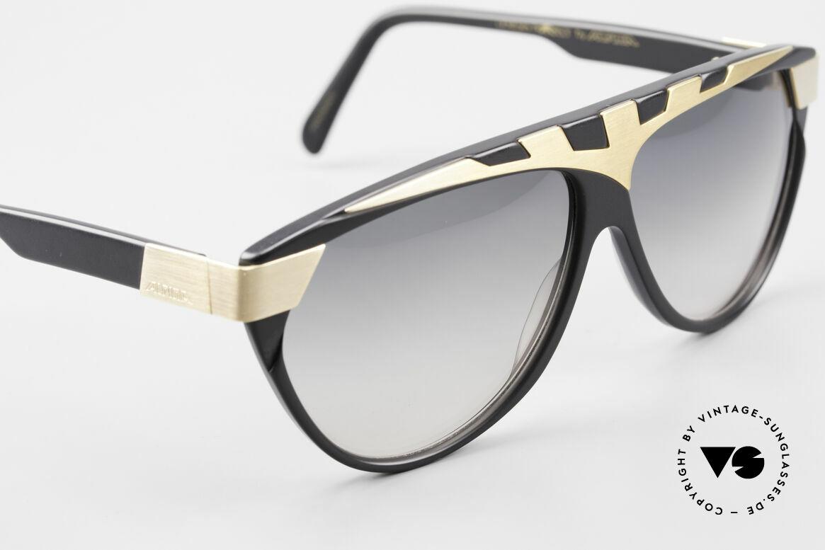 Alpina G80 Vergoldete 80er Sonnenbrille, ungetragen (wie alle unsere vintage ALPINA Brillen), Passend für Herren und Damen